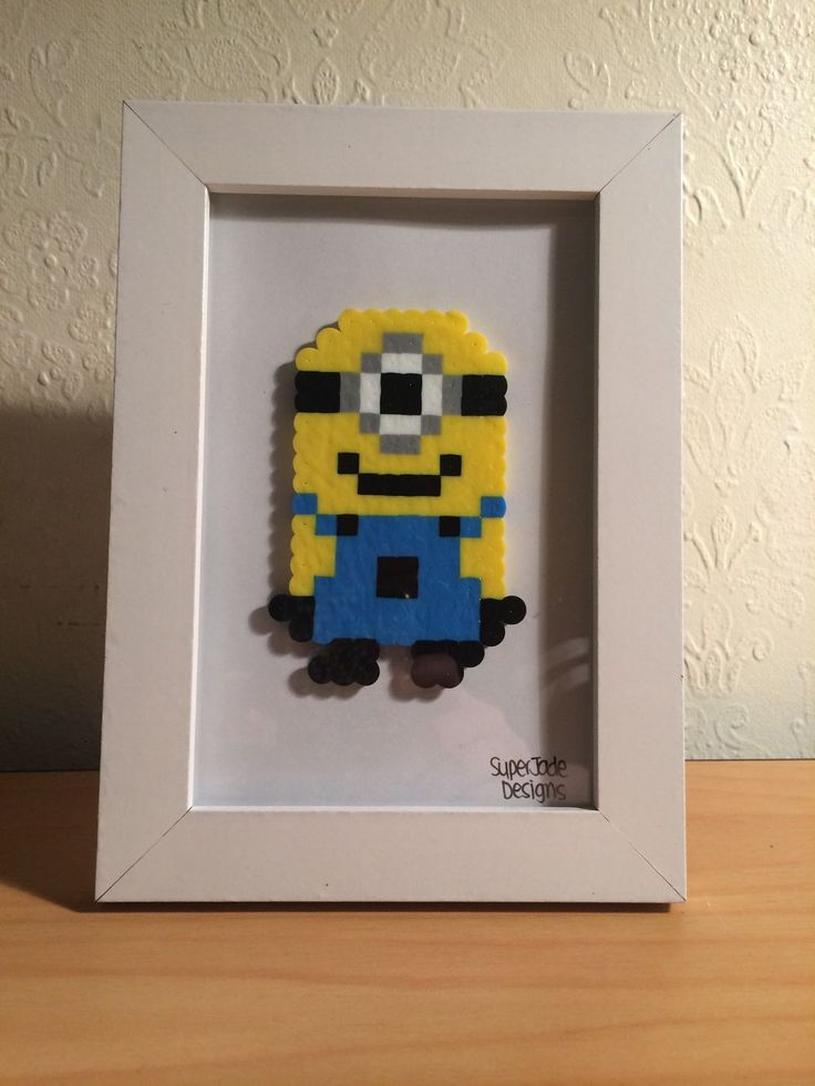 Minion - Framed. via SuperJade Designs. Click on the image to see more!