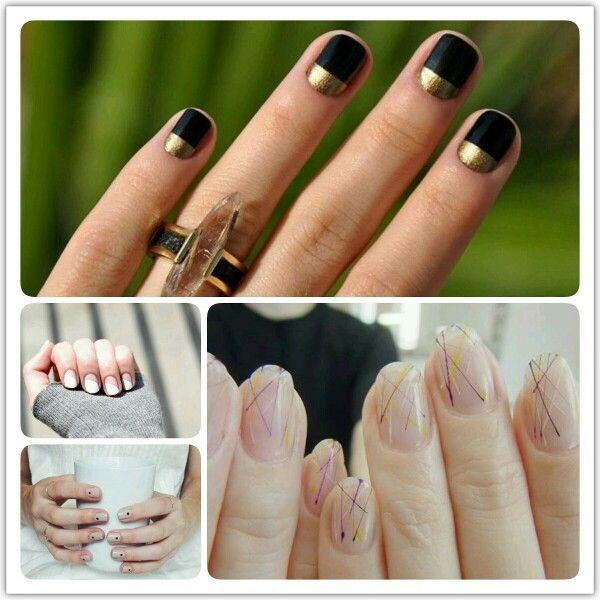 Minimál körömfestések II. #nail #nailart #minimal #beauty