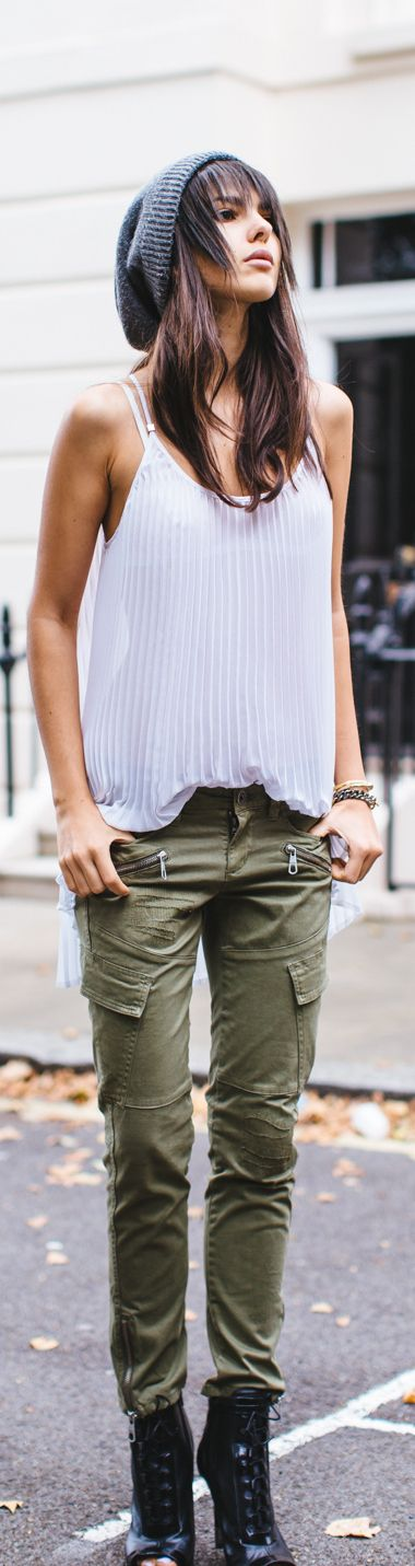 Military Trend / Fashion By The Golden Diamonds