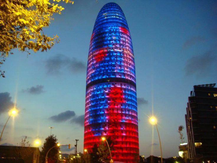 """Torre Agbar de Barcelona"""