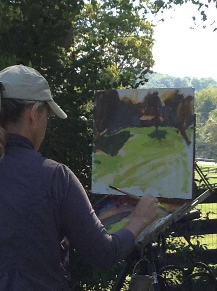 Anne Blair Brown demo in Leipers Fork, TN
