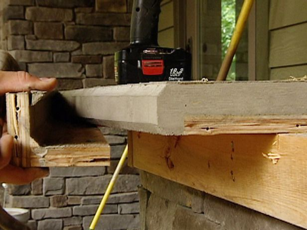 Concrete Countertop Forms on Pinterest Diy concrete countertops ...