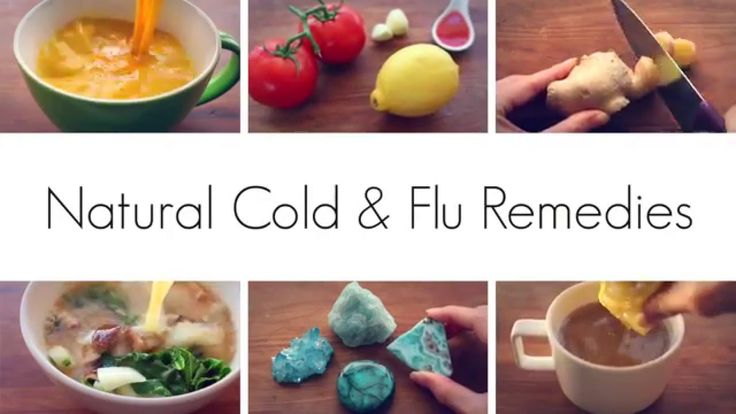 NATURAL COLD AND FLU REMEDIES!