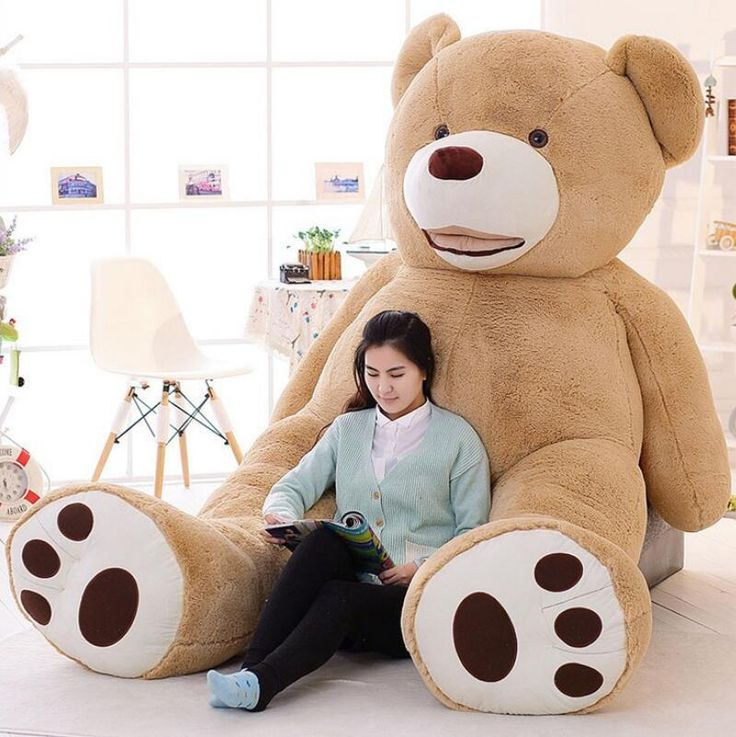 2016 New Kawaii 2.6m Huge Plush Animals Giant Teddy Bear Plush Soft Toys Kids Toys Stuffed Animals Huge Plush Bear Best Gifts #Affiliate