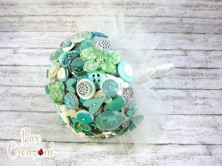 Teal alternative bouquet - Bax Creazioni