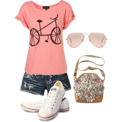 Polyvore Summer Outfits | Cute summer outfit! - Polyvore | We Heart It find more women fashion ideas on www.misspool.com