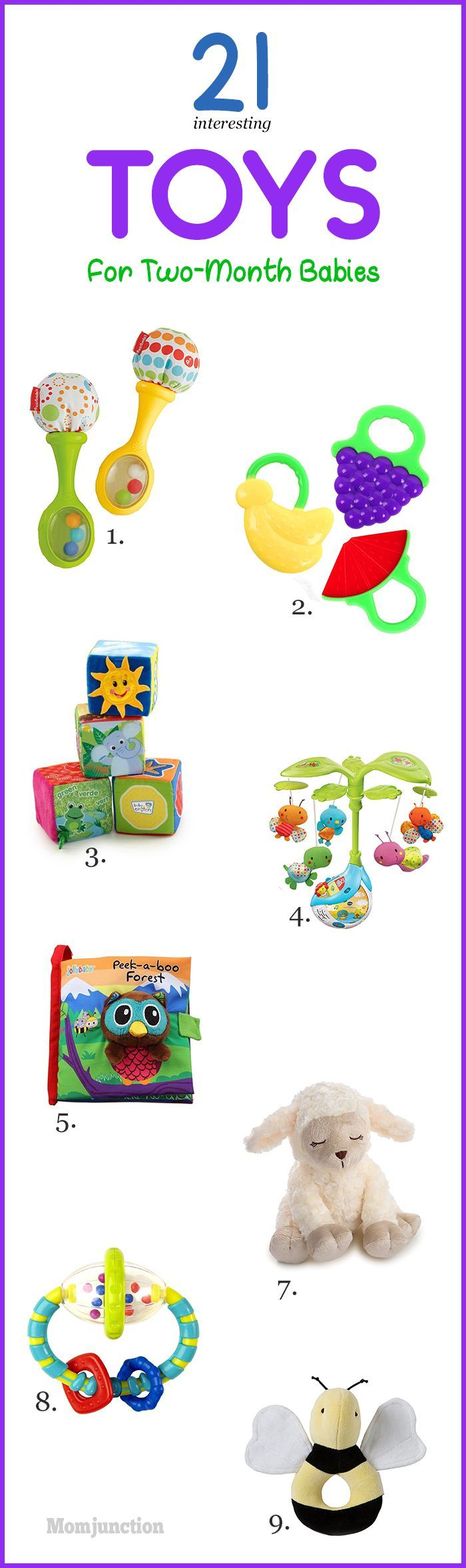 Are you looking for some engaging toys for 2 month old that will bring a smile to your 2 month old baby's face? Read on and get some amazing ideas for toys.