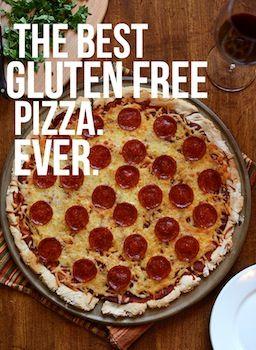 Gluten Free Pizza Recipe. Make it Gluten Free and Visit www.Absolutelygf.com! #Glutenfree #Pizza #Recipe