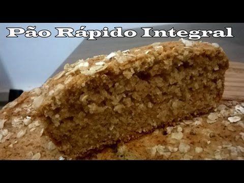 Como Fazer : Pão Integral de Liquidificador - Melhor Receita - YouTube