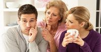 """Yet another article form within the Christian world.. This focuses on the parent-in-laws and the """"annoyances"""" that come with them. There are several issues addressed, but the foundational theme is the parents' presence in the married couple's lives. This article offers advice on how to deal with this """"intrusiveness"""". But the main point: it shows how deeply Americans value their privacy, even as a married unit."""