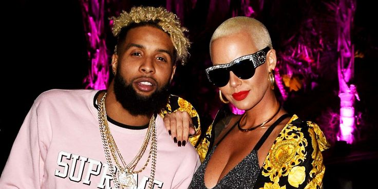Here's Why Amber Rose Is '150% Sure' Odell Beckham Jr. Isn't Gay