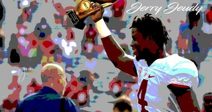 Jerry Jeudy ALABAMA Football