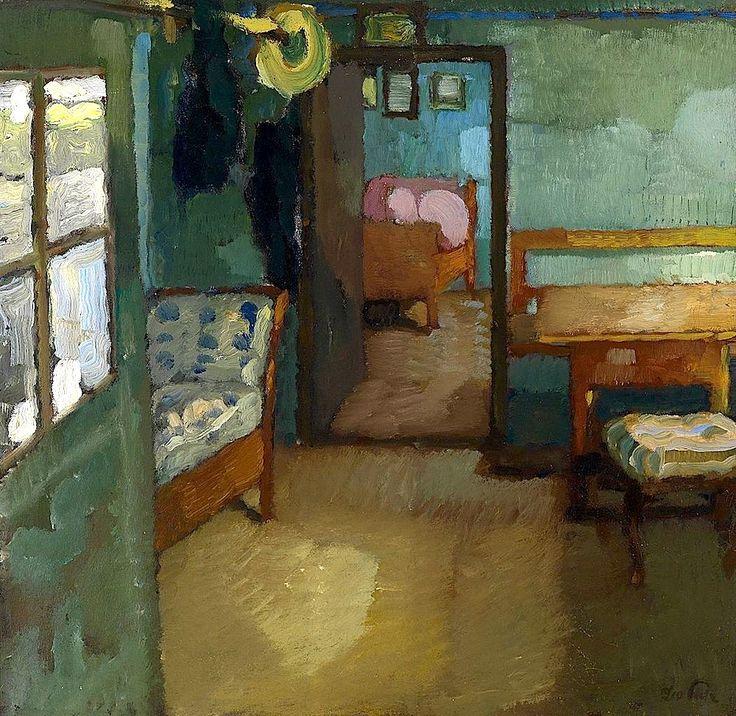 bofransson:    Interior Leo Putz - circa 1905
