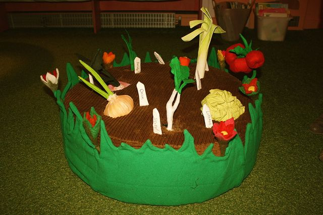 Vegetable Patch for Discover Spring school sessions   Flickr - Photo Sharing!