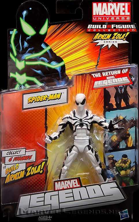 Marvel Legends Arnim Zola Series Future Foundation Spider-Man