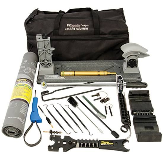 19-piece AR-15 tool set with everything needed to build, maintain, and repair an AR-15.
