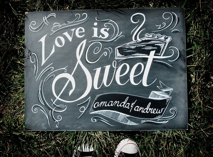 69 best chalk art images on pinterest chalk talk chalk board and love is sweet dessert table sign sweets sign candy bar sign amazing chalk art that wont go away on you stopboris Gallery