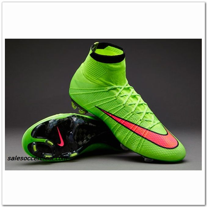 Nike Mercurial Superfly FG Electric Green Hyper Punch Black Only $102.99