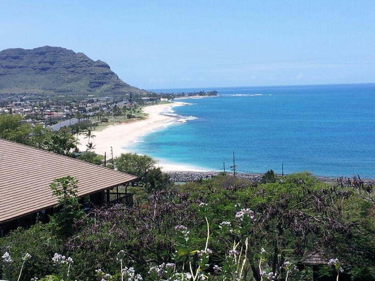 Beautiful view from waianae coast comprehensive health