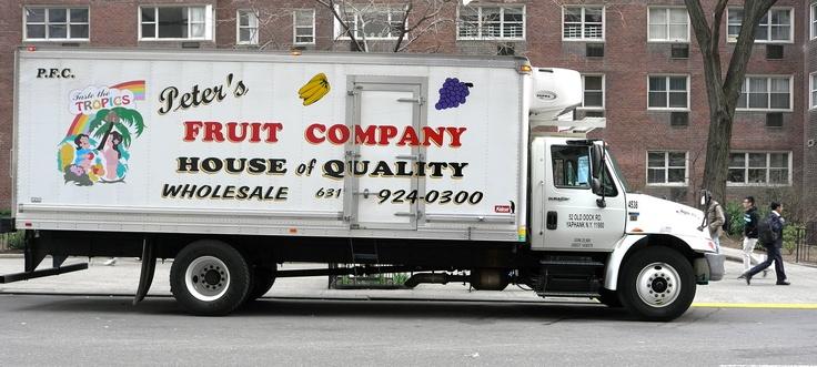 Apple. The Fruit Company. NYC.