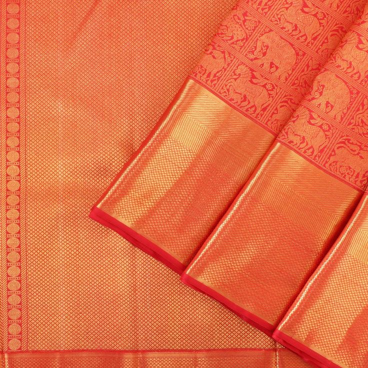 Kanakavalli Kanjivaram Silk Sari 060-01-26814 - Cover View
