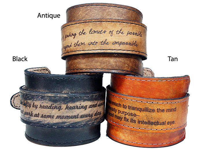 best 25 personalized leather bracelets ideas on pinterest