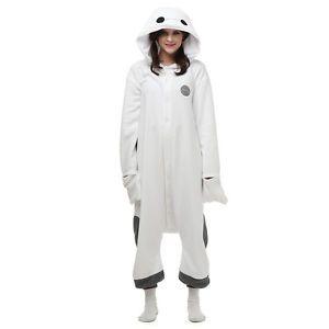 Baymax Big Hero 6 Costume Onesie Adult Kigurumi Pyjamas Sleepwear Jumpsuit S-XL