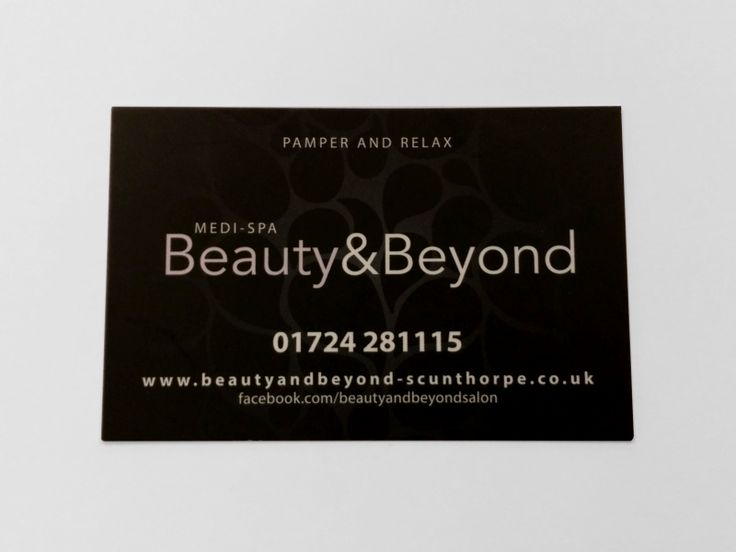 Beauty & Beyond Business Card