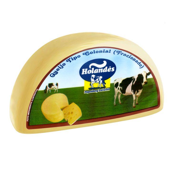 O Queijo Colonial Holandês é um queijo de sabor marcante e textura macia. A tecnologia e segurança de produção, garante um produto saudável e delicioso. Com 30 dias de maturação, é perfeito para aperitivos e receitas à base de queijo.