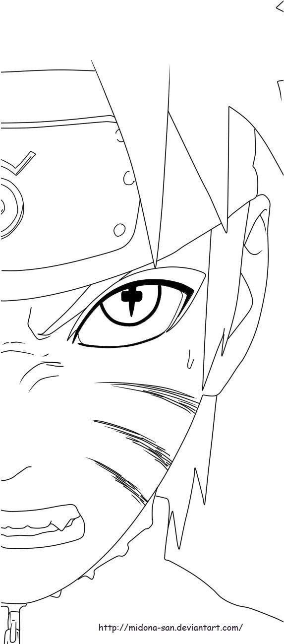 Anime Sketch Naruto Drawing Easy