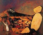 Russell Drysdale - Broken mountain
