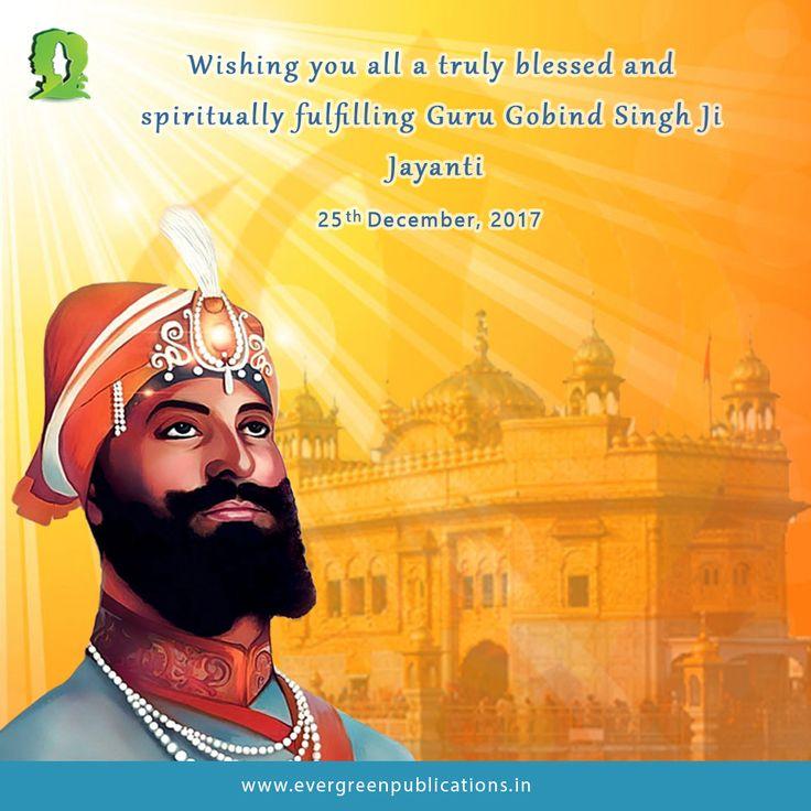 #ShriGuruGobindSinghJiJayanti #Sikhism #ReligeouPost #TrendingPost #EducationPublishers