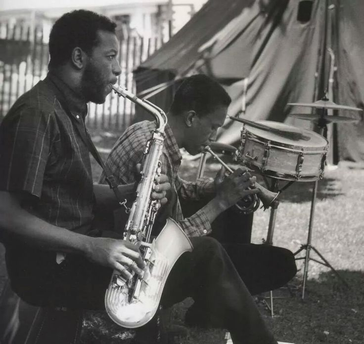 """thepastprotracted: """" Ornette Coleman and Don Cherry """""""