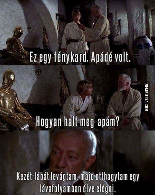 Szegény Luke...