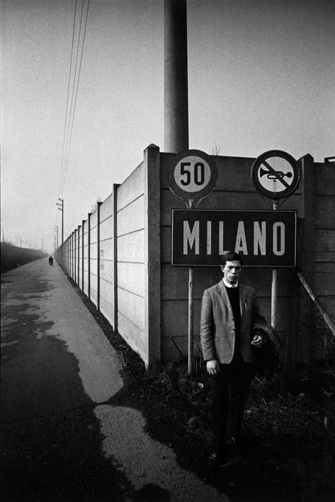 Bruno Barbey - Milano #TuscanyAgriturismoGiratola