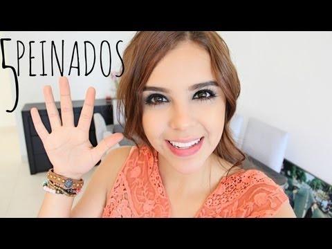 5 PEINADOS PARA ESCUELA/TRABAJO♥ (Fácil) - Yuya