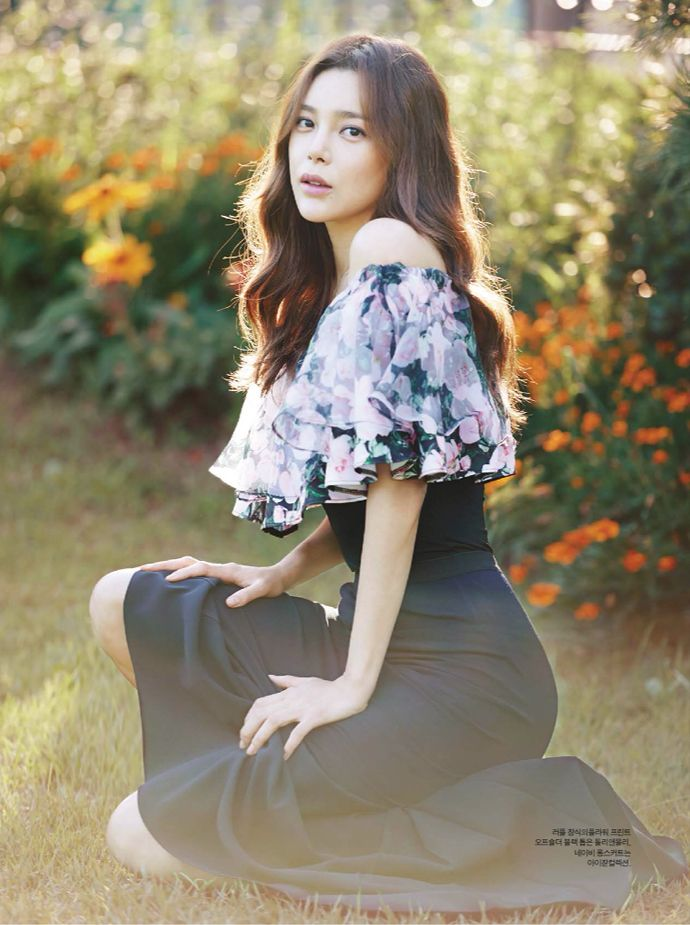 Korean Magazine Lovers : Photo Park si yeon
