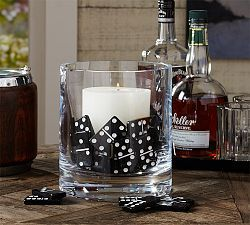 All New | Pottery Barn- dominoes at game night