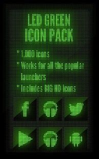 LED Green - Icon Pack APK for Blackberry | Download Android APK GAMES & APPS for BlackBerry, for BB, curve, 8520, bold, 9300, 9900, playbook, pearl, torch, 9800, 9700, cobbler, Z10, Z3, passport, Q10