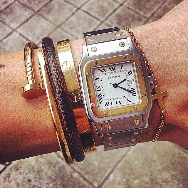 Past bij goud en zilvere sieraden! Love it!❤