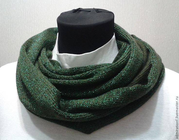 Шарфы и шарфики ручной работы. Ярмарка Мастеров - ручная работа Шарф-снуд. Handmade.