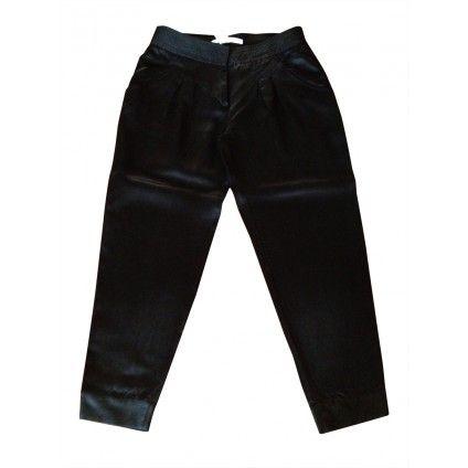 Diane Von Furstenberg black trousers preowned luxury on mygoodcloset.com for 67 euros!