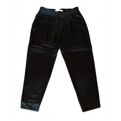 Diane Von Furstenberg black trousers preowned luxury on mygoodcloset.com for 67 euros!