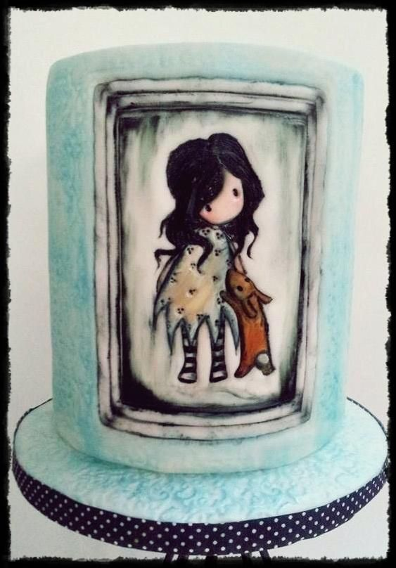 Cake Art By Suzanne : 28 best images about Tartas Gorjuss on Pinterest