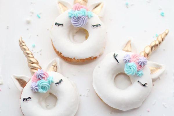 Der neuste Instagram-Foodhype: Einhorn-Donuts
