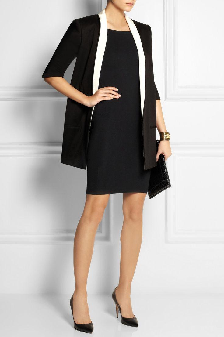 Burberry London|Knitted stretch cotton-blend dress|NET-A-PORTER.COM