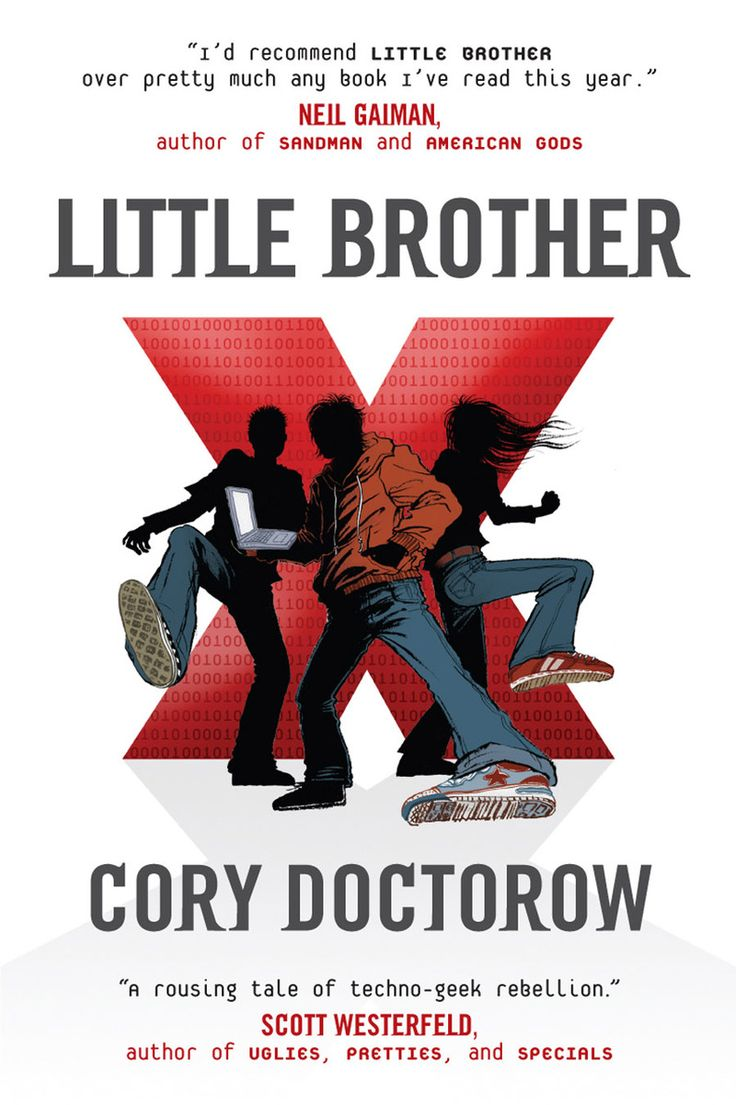 40 recommended #censored #books: Little Brother by #CoryDoctorow; In response to his #book being cancelled as the assigned text for a school-wide summer reading program, #Doctorow sent 200 copies to the high school. #Read #BannedBooks