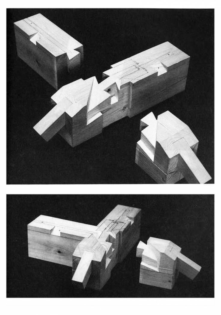 En Detalle: Especial / Los ensambles de madera en la arquitectura japonesa tradicional