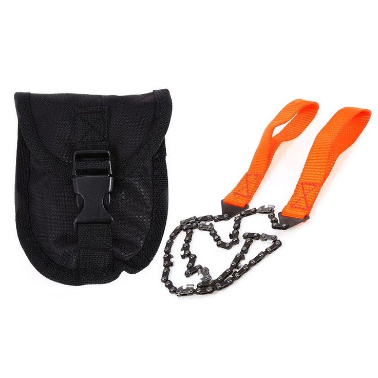 PRACTICAL HAND CHAIN SAW SURVIVAL KIT SOS EMERGENCY EQUIPMENT SURVIVAL KITS FOR ADVENTURE CAMPING