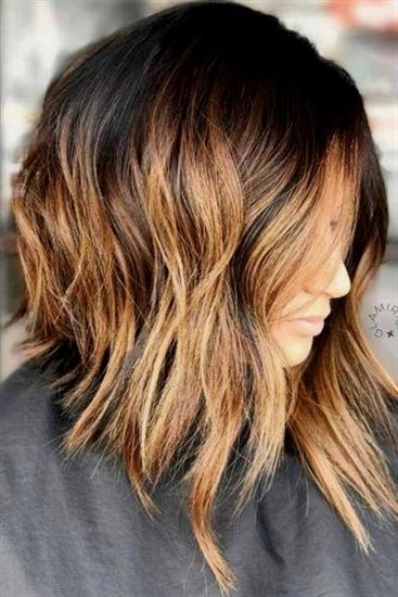 #BrownOmbreHair | Wavy bob hairstyles, Brown ombre hair, Short hair styles